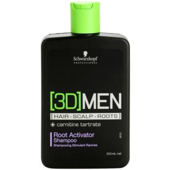Schwarzkopf Professional [3D] MEN šampon za aktivacijo lasnih korenin